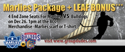 $68 For 4 End Zone Seats For Marlies vs Bulldogs (ACC)